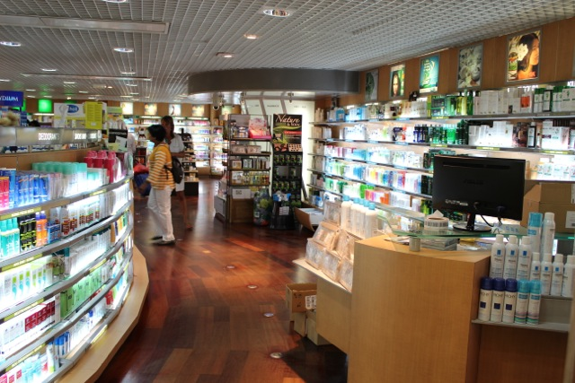 Pharmacy Paris Orly Sud Airport
