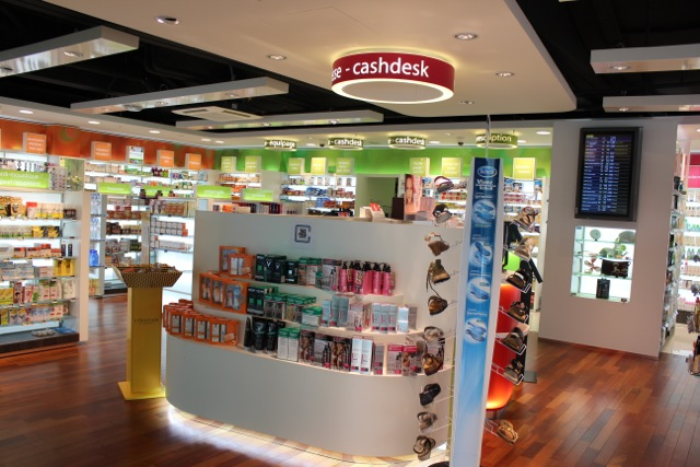 Pharmacy Paris Roissy Airport Terminal ABCD